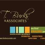 Burks post card front